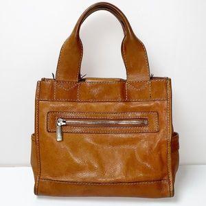 Michael Kors |Luggage Vintage Leather Handbag/Tote